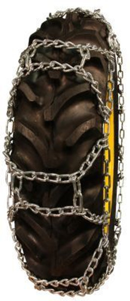 ICC Tru Grip H-Pattern Tractor Tire Chains - Fit: 41x14.00-20, 13.6-24, 14.9-24, 420/70-24, 13.6-26