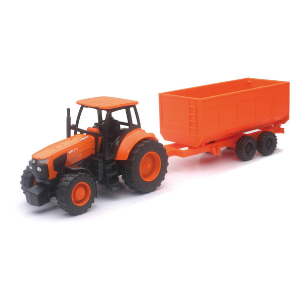 Kubota 77700-03892 1:32 Tractor and Wagon Set