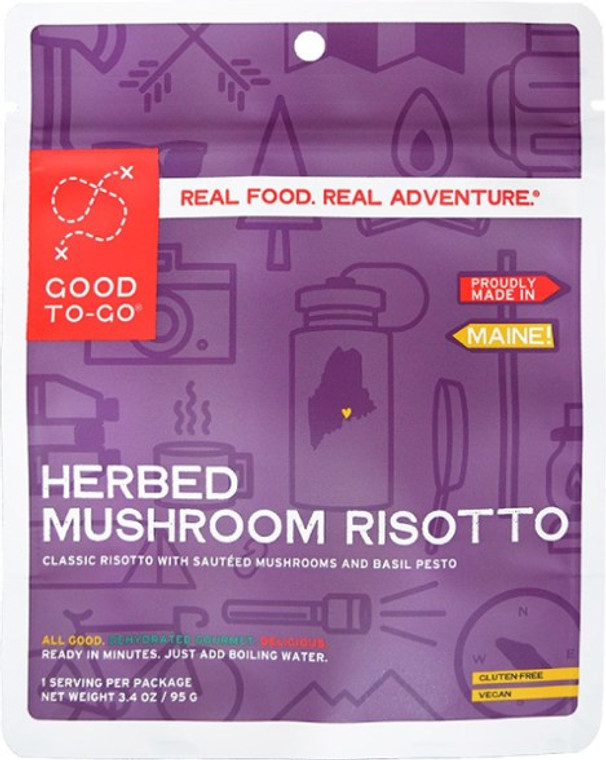 Mushroom Risotto - 2 Servings