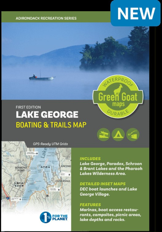 Lake George Boating & Trails Map