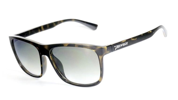 Gaucho Sunglasses Shiny Demi/G15 Polarized