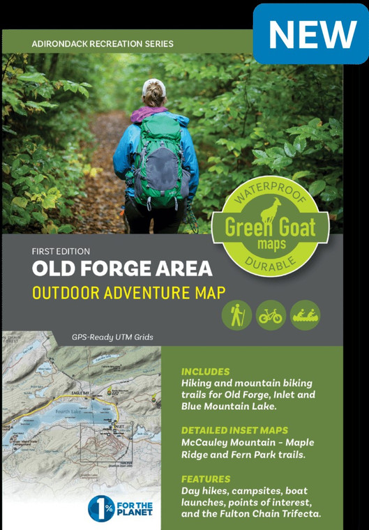 Old Forge Area Outdoor Adventure Map