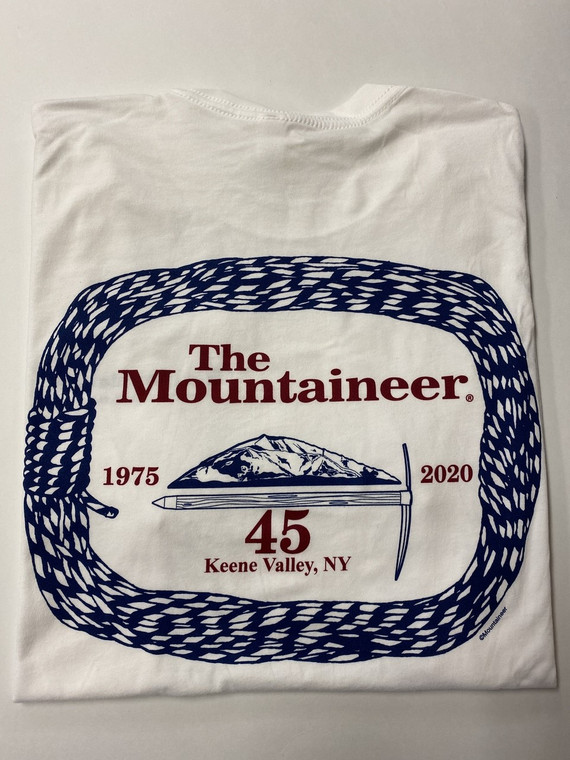The Mountaineer Rope T-Shirt 45th Anniversary Edition