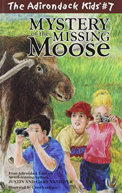 The Adirondack Kids #7 Mystery Of The Missing Moose