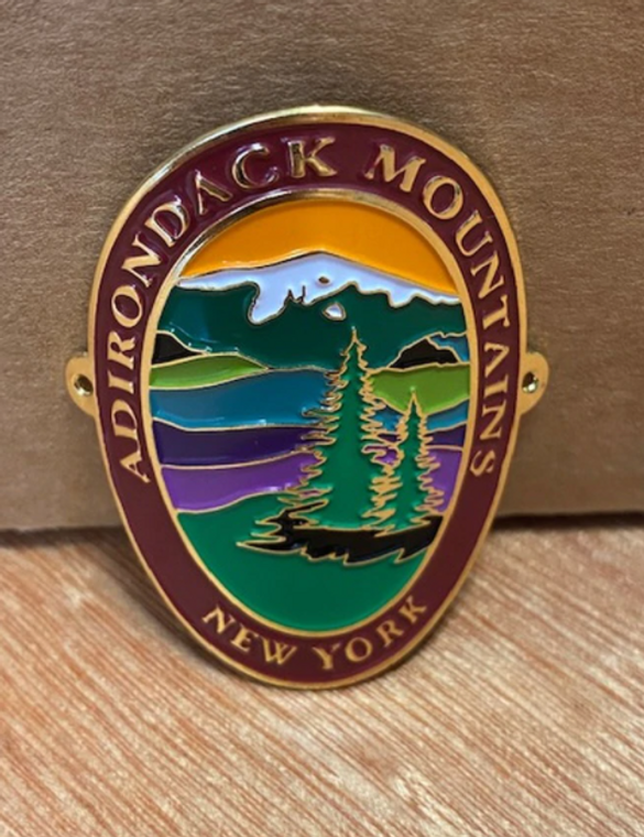 Adirondack Hiking Stick Medallion