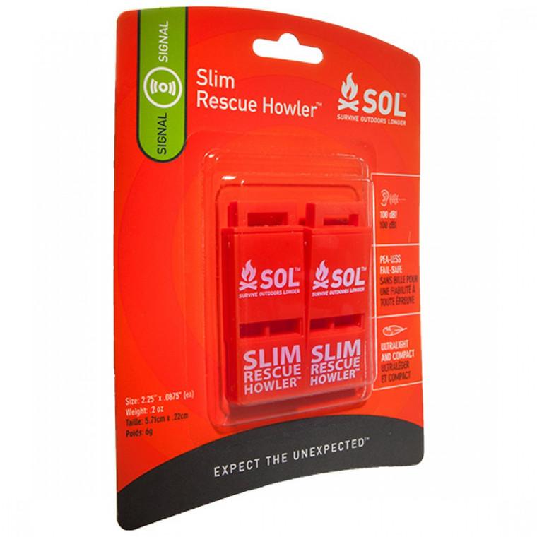 SOL Slim Rescue Howler 2/Pack