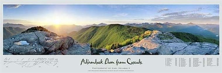 Adirondack Dawn From Cascade Poster