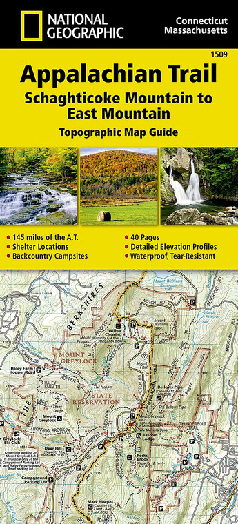 Appalachian Trail Schaghticoke Mountain to East Mountain 1509