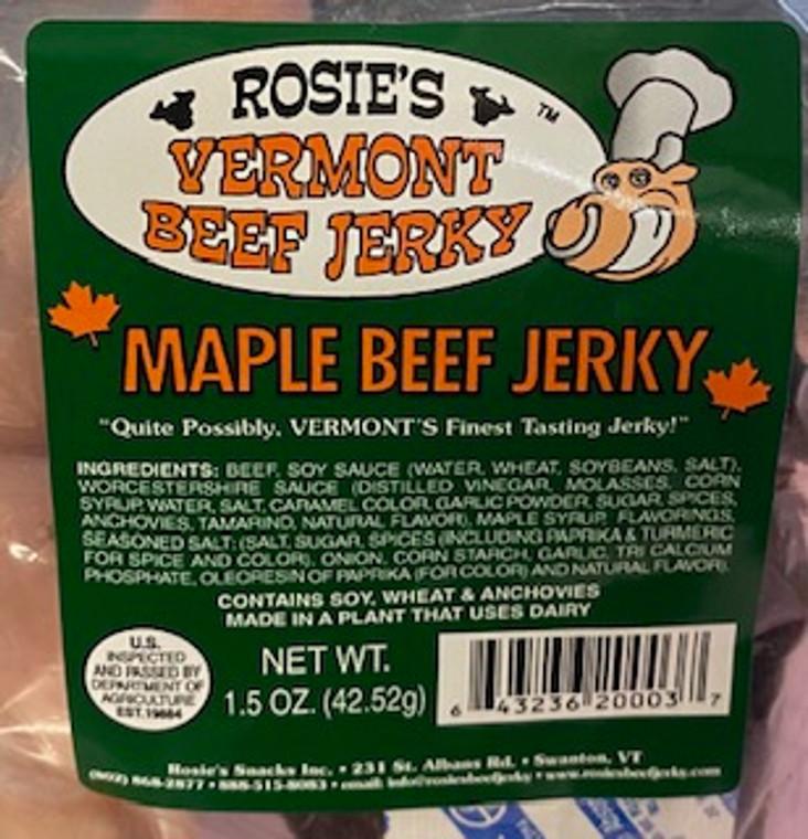 Rosie Maple Beef Jerky