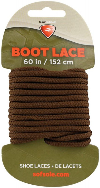 """Boot Lace Brown 60"""""""