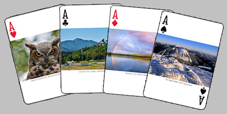 Adirondack Playing Cards By Carl Heilman Photography