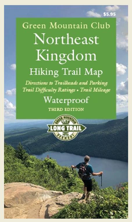 Northeast Kingdom Map 3rd Edition