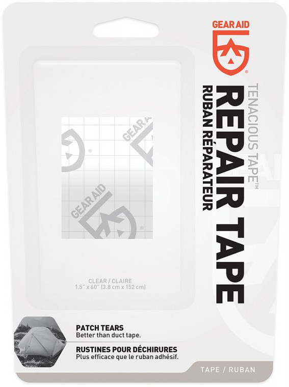 "Tenacious Tape 1.5"" x 60"" Clear"