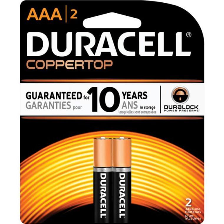 Duracell Coppertop AAA 2PK