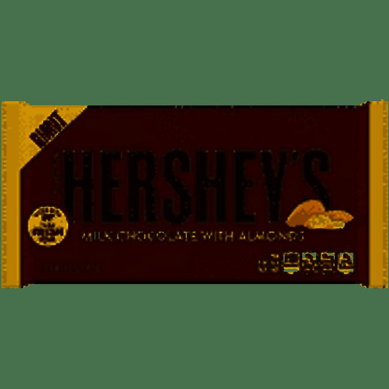 Hershey's Giant Milk Chocolate With Almond Bar