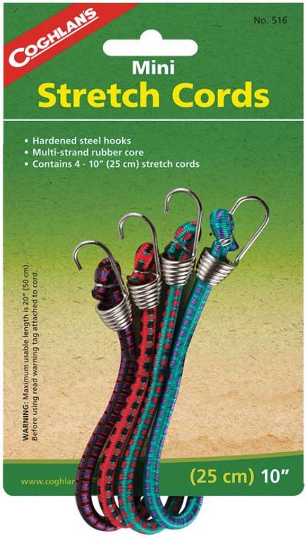 Mini Stretch Cords 4 Pack