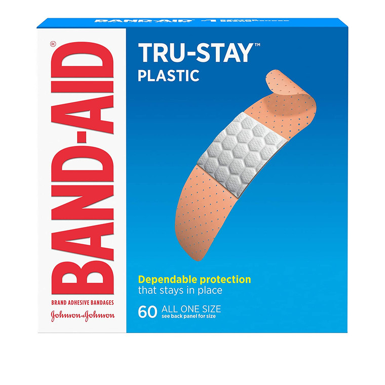 True-Stay Plastic Family Pack BAND-AID