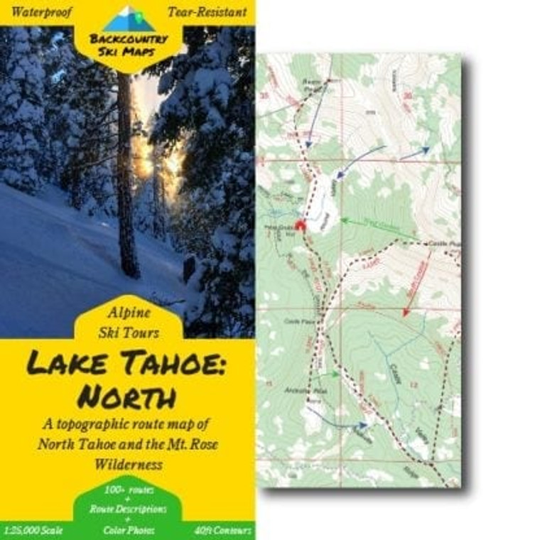 Backcountry Ski Maps