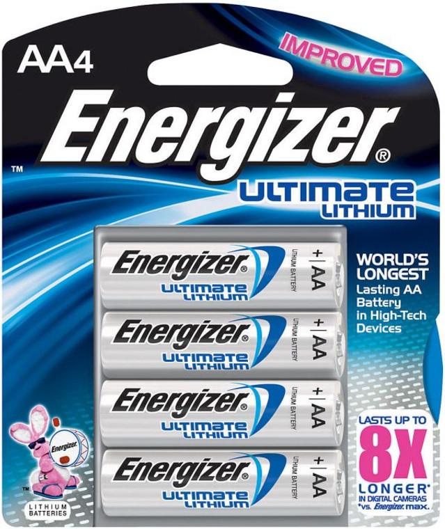 Energizer Ultimate LI AA 4 Pack