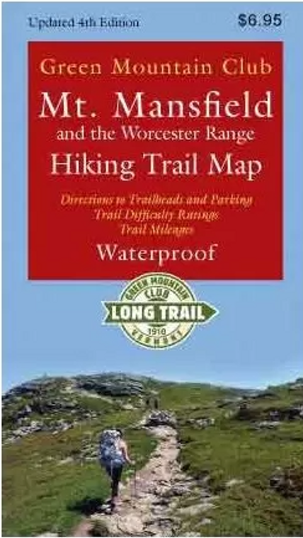 Mount Mansfield Map 4th Edition