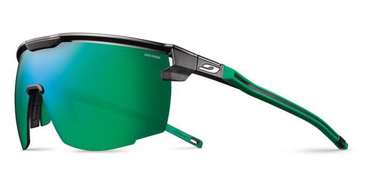 Ultimate Sunglasses Black/Green Frame With Spectron 3CF Lens