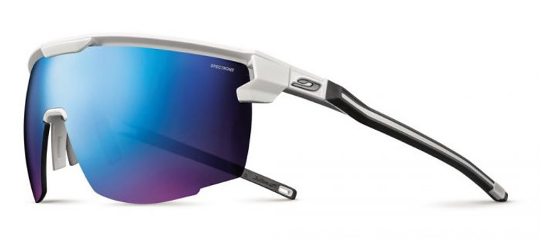 Ultimate Sunglasses White/Black Frame With Spectron 3CF Lens