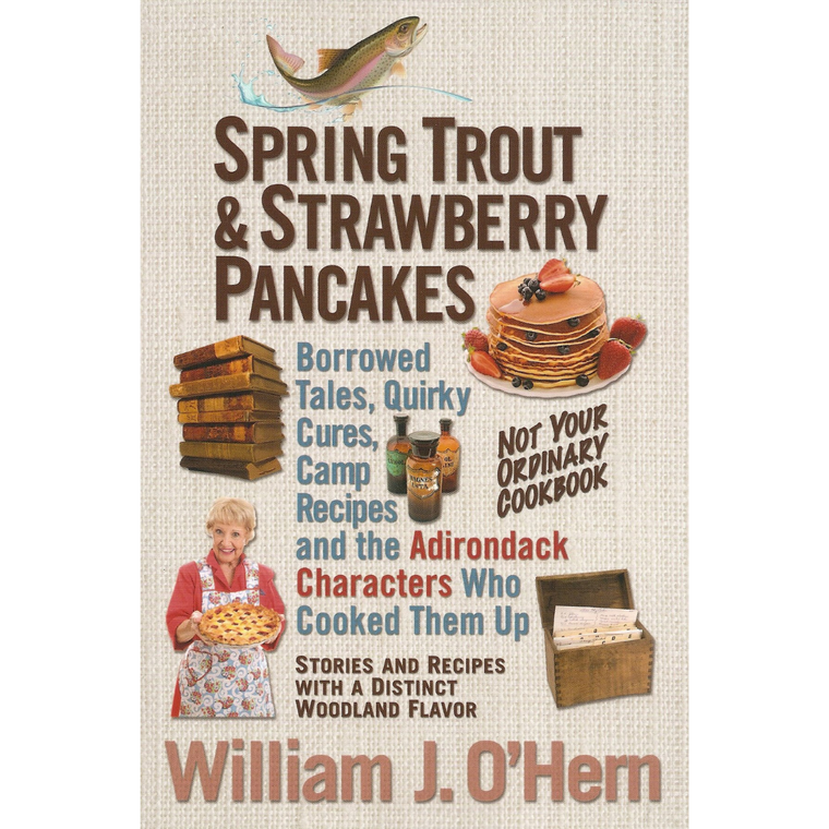 Spring Trout & Strawberry Pancakes