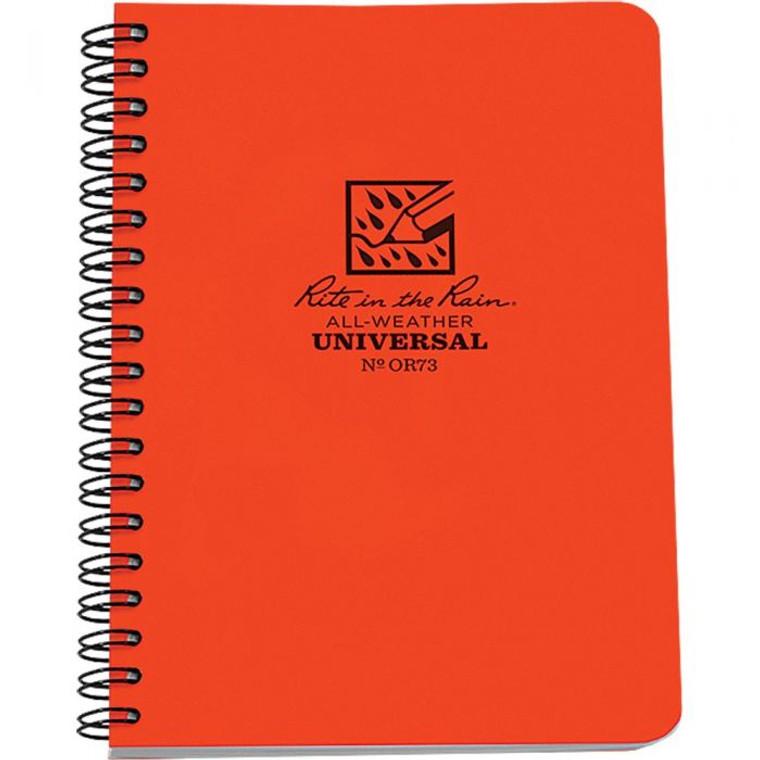 Spiral Notebook 4 5/8 X 7
