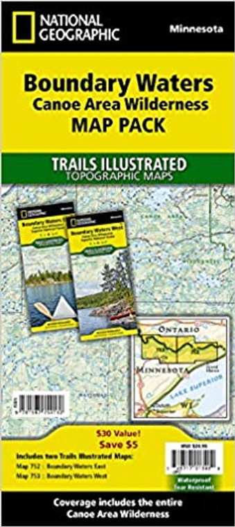 Boundary Waters Canoe Area Wilderness Map Pack