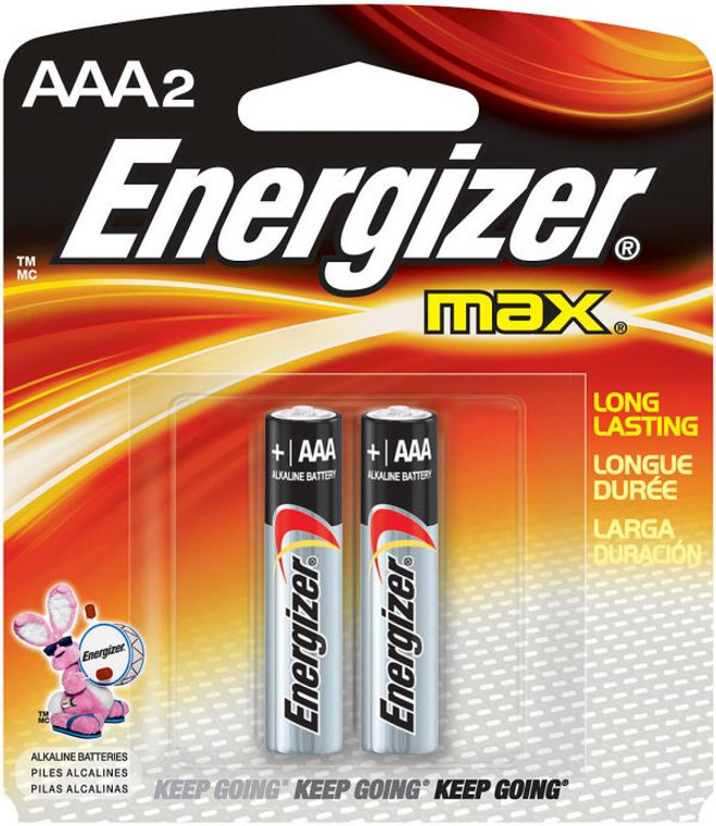 Energizer AAA 2 Pack