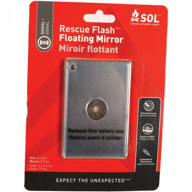 Rescue Floating Signal Mirror