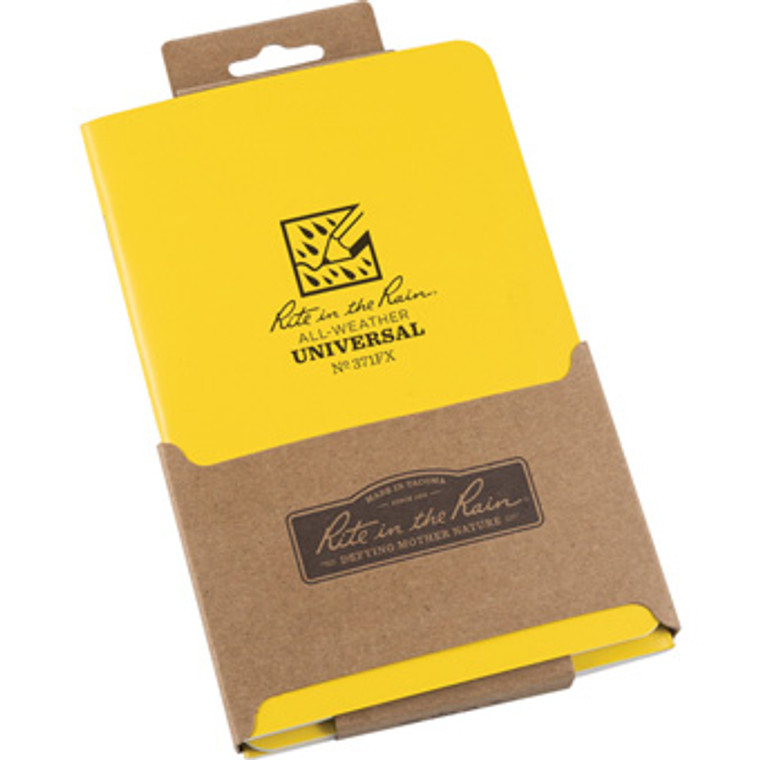 Notebook 4 5/8 x 7 3 Pack - Yellow