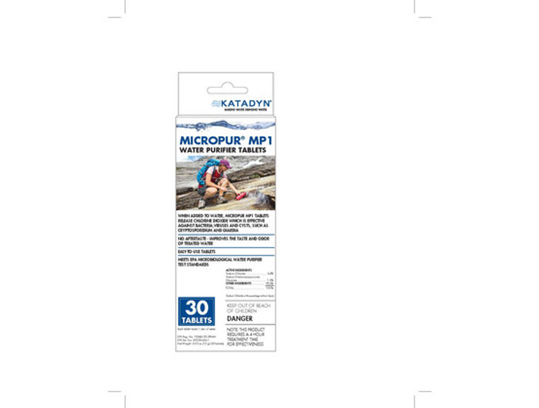 Micropur Tablets 30 Pack
