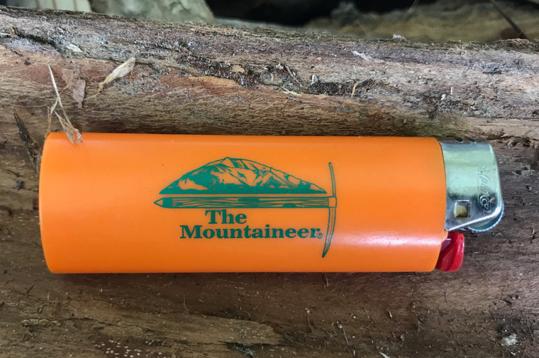The Mountaineer Logo Bic J26 Lighter