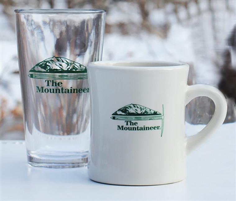 Mountaineer Pint Glass