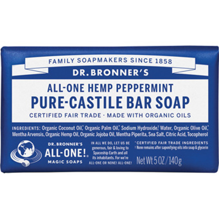Dr. Bronner's Peppermint Soap Bar
