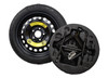 2016-2018 Kia Optima Spare Tire Kit - Shown With Mounted Tire, Image is a representation.