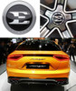 Kia Stinger Emblem Kit - Option 2 and Option 3 (Hood, Trunk, and Wheel Caps)