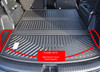 2020-2021 Kia Telluride Folding Cargo Tray, when third row is down (fitment note)