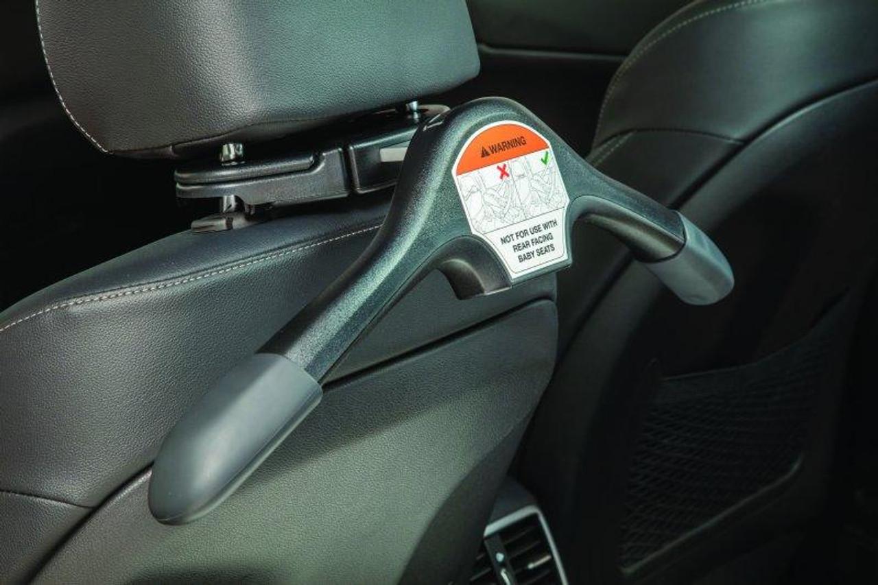 kia coat hanger attachment behind driver's seat