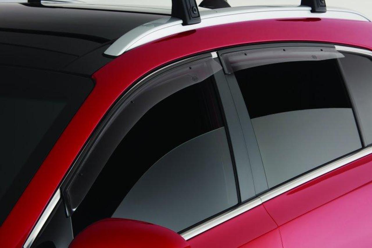 New Smoke Visors Rain Guard Window Vent Door Deflector for Kia Sportage 17-19