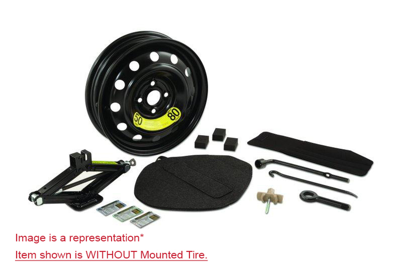 2017-2022 Kia Sportage Spare Tire Kit- Shown without Mounted Spare