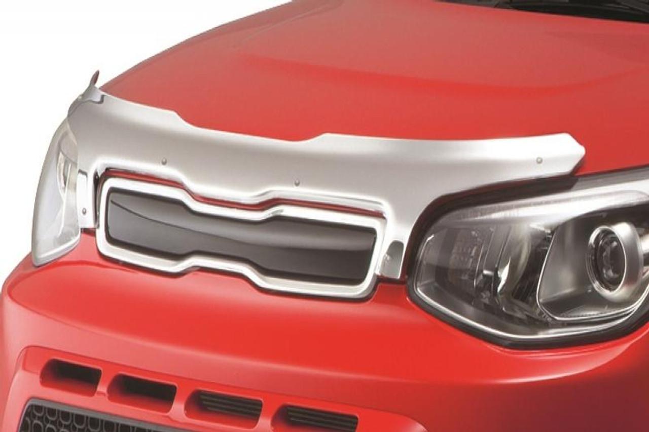 2014 2019 Kia Soul Chrome Bug Deflector Free Shipping