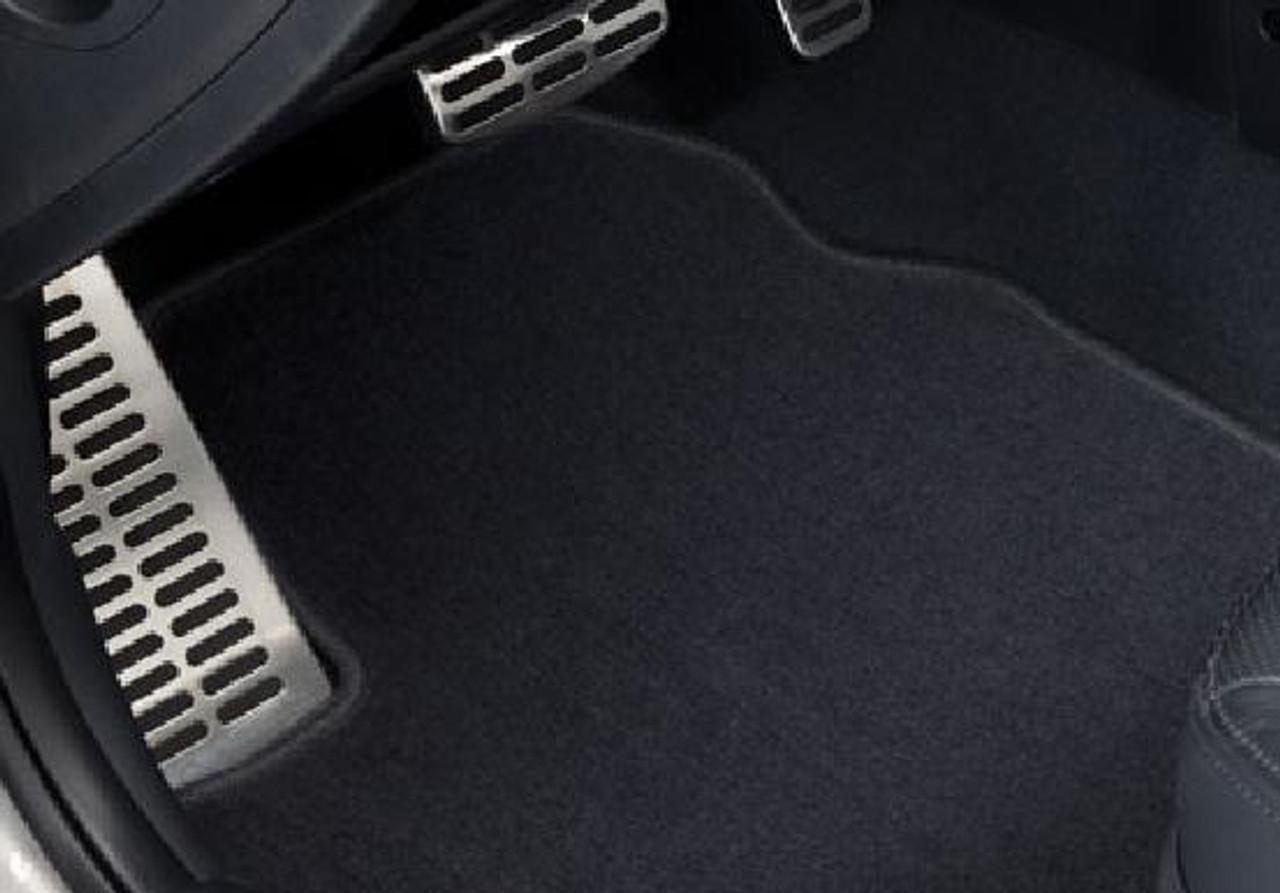 2012 2013 Kia Forte Koup Black Loop Driver GGBAILEY D3930A-S1A-BK-LP Custom Fit Car Mats for 2010 2011 Passenger /& Rear Floor