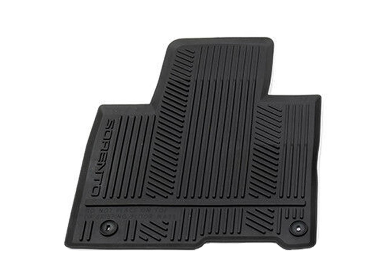 2016-2020 Kia Sorento Rubber Floor Mats - Driver Mat