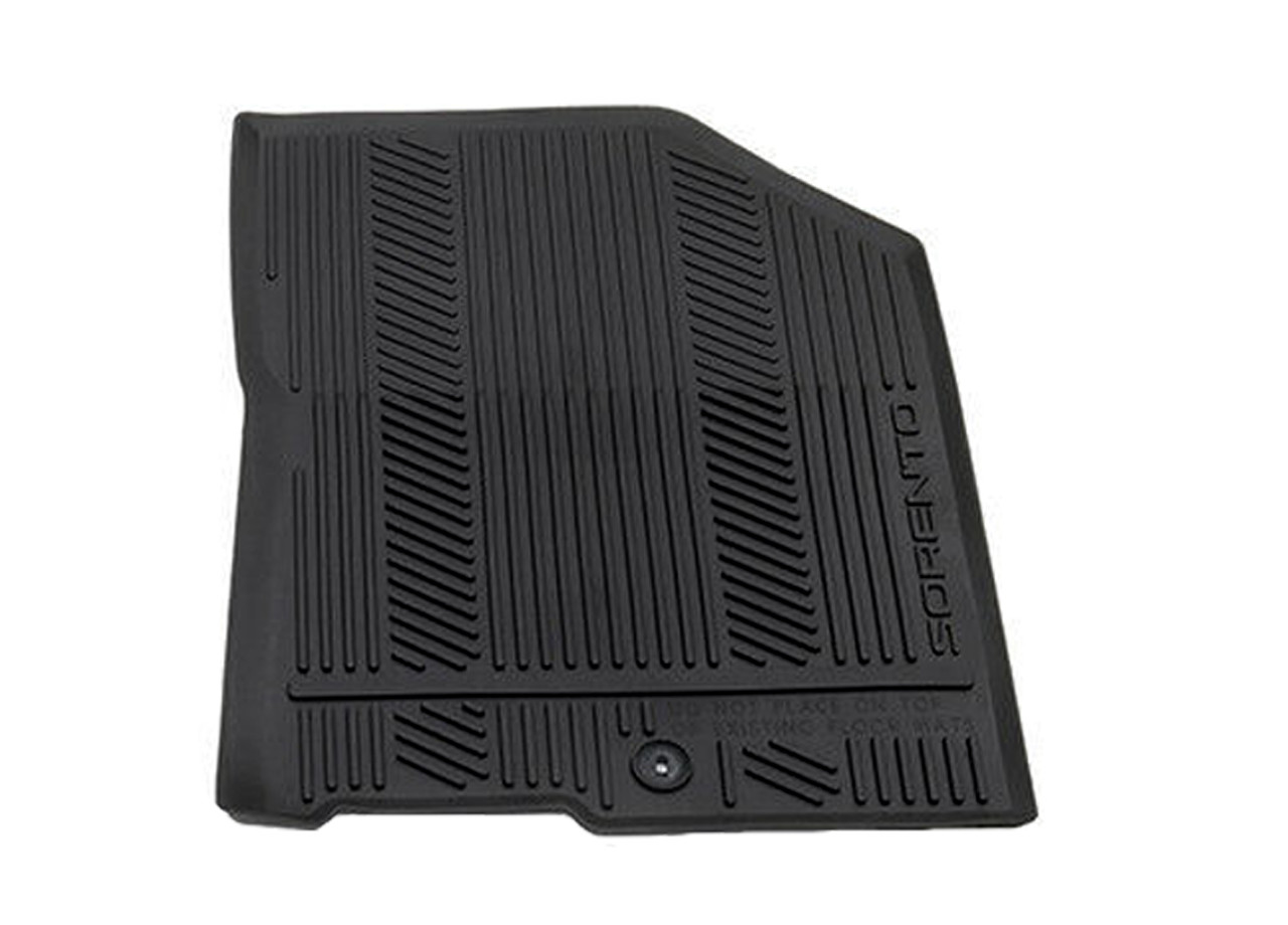2016-2020 Kia Sorento Rubber Floor Mats - Passenger Mat