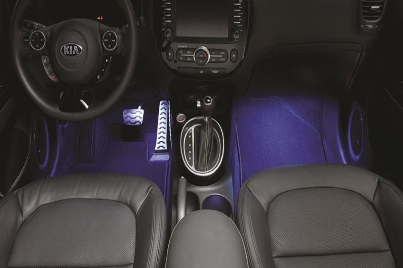 2016 Kia Optima Accessories >> 2014-2019 Kia Soul Interior Lighting Kit - Free Shipping | Kia Stuff