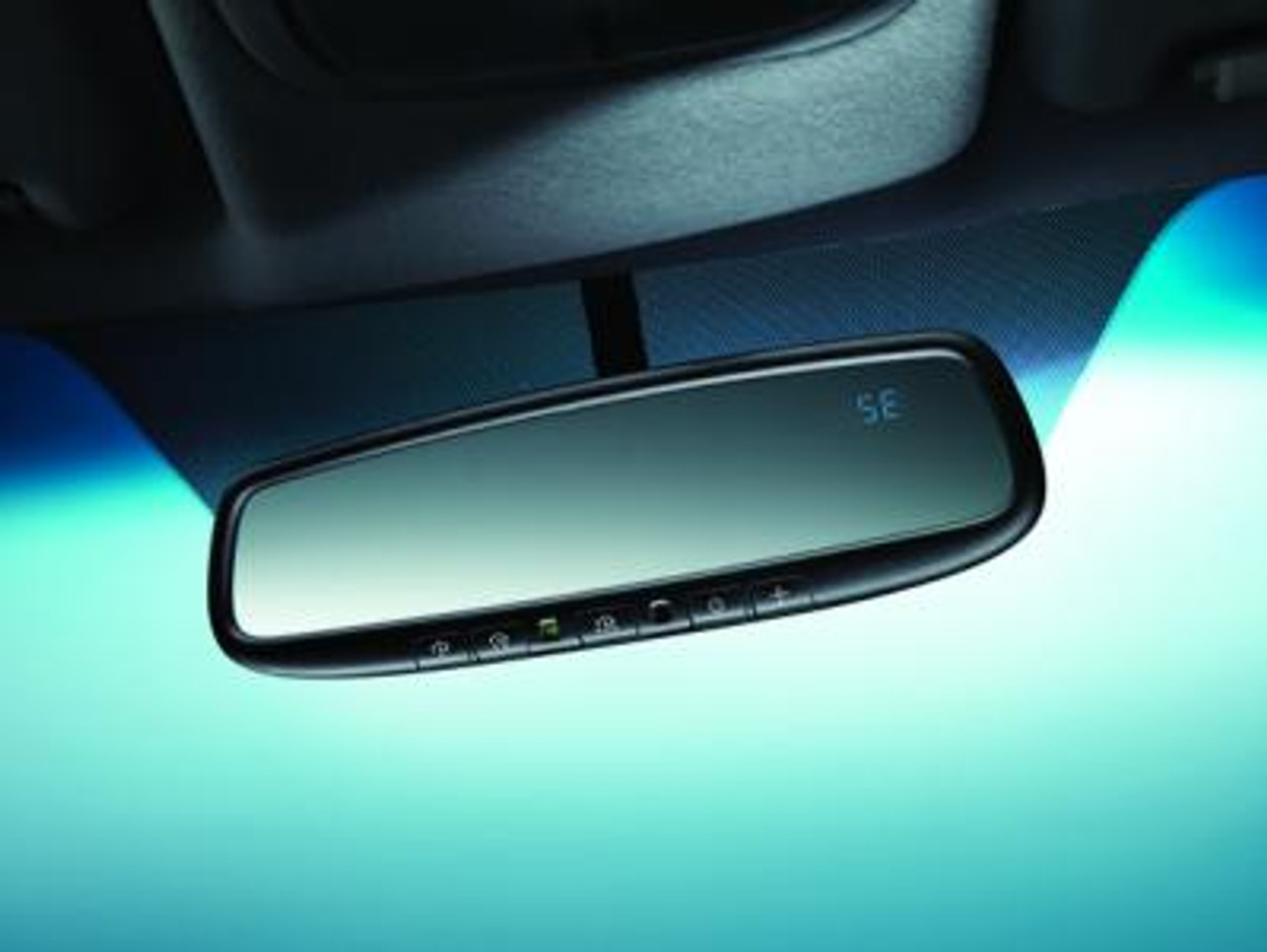 Kia Genuine Accessories U8620-00001 Auto Dimming Mirror with HomeLink and Compass Soul