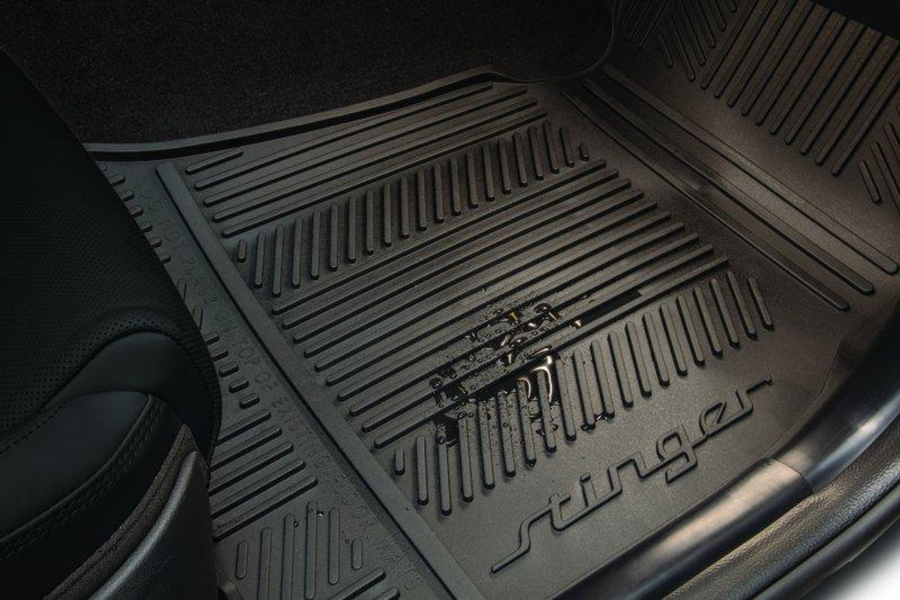Kia Stinger Rubber Floor Mats