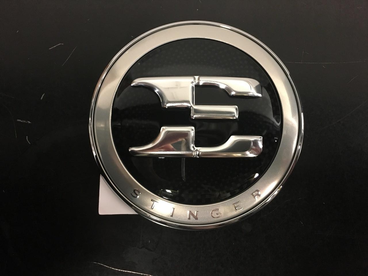 Kia Stinger Emblem Kit - Hood Emblem